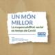 Un món millor, la responsabilitat social en temps de Covid vídeo promocional